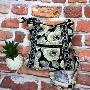 Vera Bradley Tan & Black Quilted Crossbody Bag